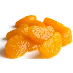 Mandarin Orange Segments in Light Syrup 14/16º brix max 10% Broken 314 ml Easy Open Tin - ECANNERS
