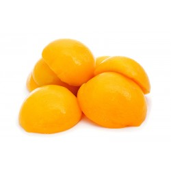 Peach Halves in Light Syrup 14/16º brix 850 ml Easy Open Tin - ECANNERS