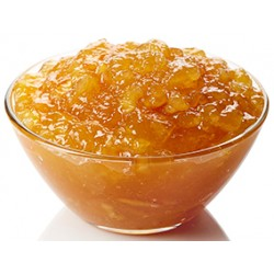 Orange Jam 55% Fruit 45% Sugar in Glass  Jar of 314 ml